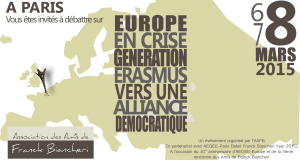 INVITATION: 5th meeting of Friends of Franck Biancheri: March 8th, 2015