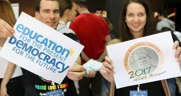 FB Award: Education for the present, Democracy for the future, Aegee-Budapest, April 2017. Final booklet