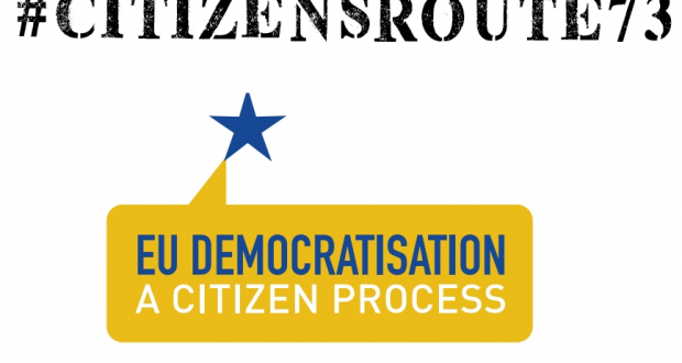 Road-map #CitizensRoute73 – Synthetic draft of the kick-off event in Louvain-la-Neuve (BE), July 1-2, 2017