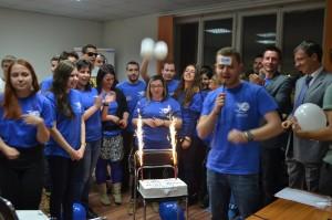 Sofia's celebration
