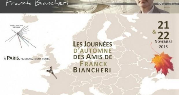 """Les """"Journées d'Automne des Amis de Franck Biancheri"""" (November, 21st & 22nd 2015)"""