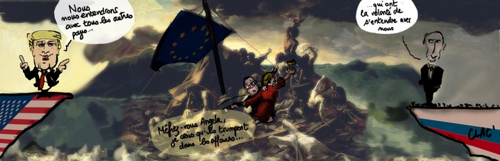 Comment Nigel prévoit de Trumper l'UE hors de son existence pendant que Boris et Vladimir lui donnent un coup de main, par Adrian Taylor