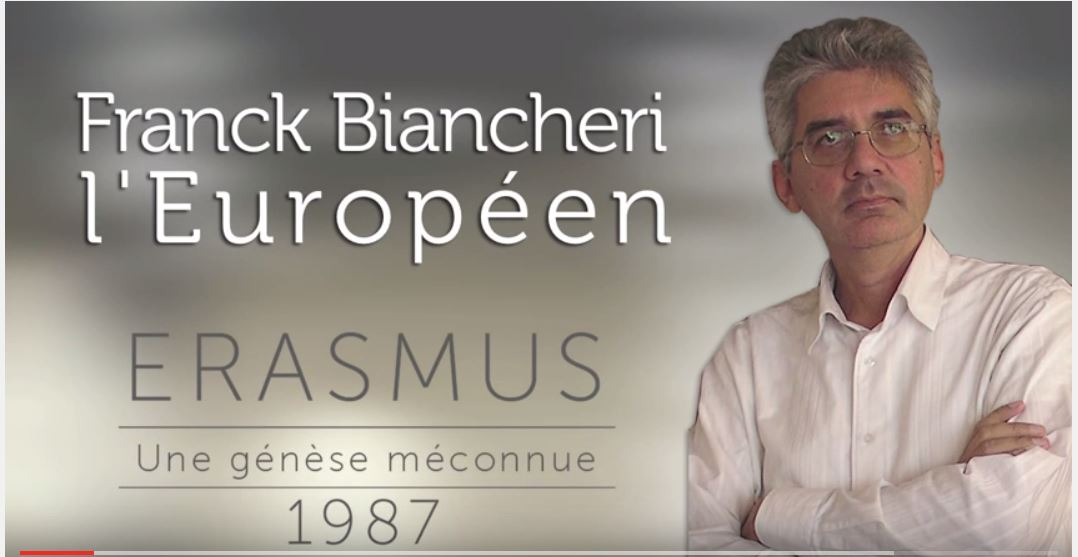 Franck Biancheri, figure of European construction, famous man from the city of Nice