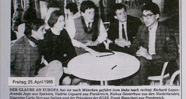 It takes teamwork to make Europe move forward. (Franck Biancheri 2005)