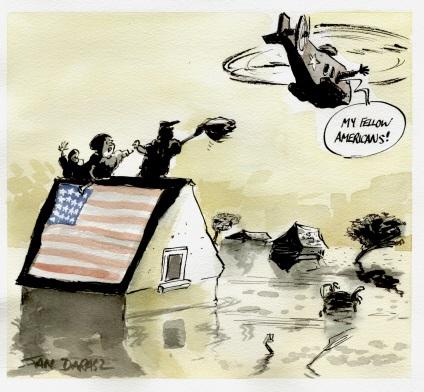 Chronique d'actualité: le tsunami américain et la prospective (Franck Biancheri, 2005)