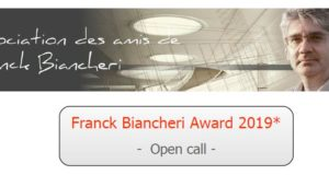 "FB Award 2019 open call for AEGEE antennae: ""Being Franck Biancheri in 2019… looking at 2040. What 20-year-ahead project would Franck Biancheri lay down today?"""