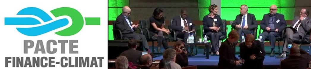 Marie-Hélène Caillol: mon soutien au Pacte Finance Climat (Video)