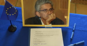 Handover of the Franck Biancheri archives to the Jean Monnet Foundation. In pictures
