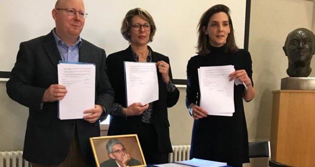Remise des archives Franck Biancheri à la Fondation Jean Monnet. Retour en images