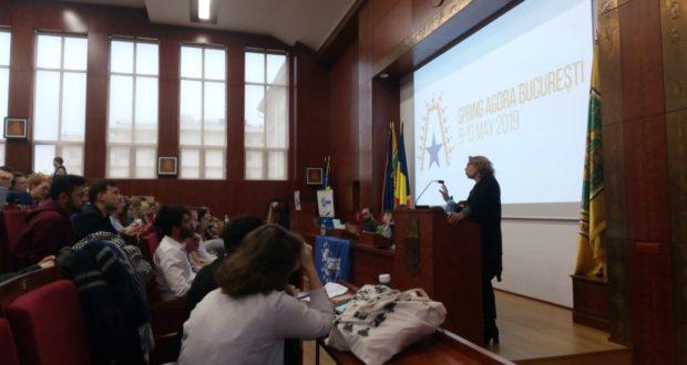 L'AAFB et le projet Europe2040 à l'Agora de printemps d'AEGEE (Bucarest, Roumanie)