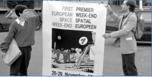 Bringing Europeans to the Moon (Franck Biancheri, 2003)
