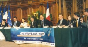 Meeting with Jacques Chirac: from Newropeans2000 to the French referendum on the European Constitution.
