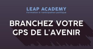 LEAP ACADEMY: Formation à l'anticipation politique – lundi 28 septembre 2020
